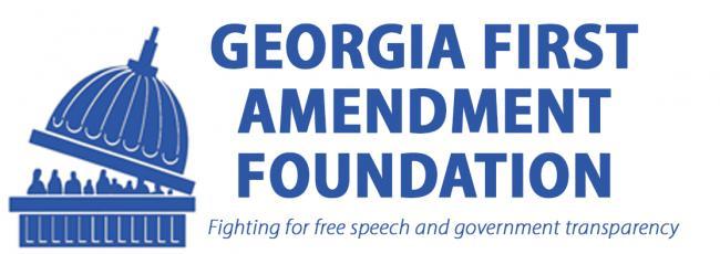 Georgia First Amendment Foundation logo