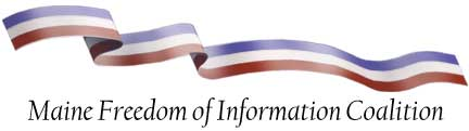 Maine Freedom of Information Coalition logo