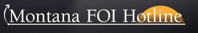 Montana FOI Hotline logo